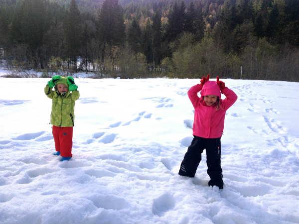 Wanderung mit Kindern zur Hafner-Alm