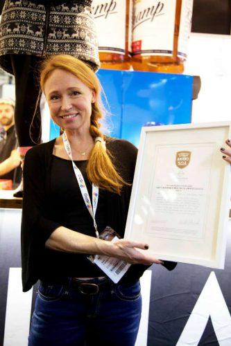 Wieder einen Preis gewonnen: Isbjörn-Chefin Maria