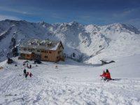 Rastkogelhütte: Rodelgaudi im Hochgebirge