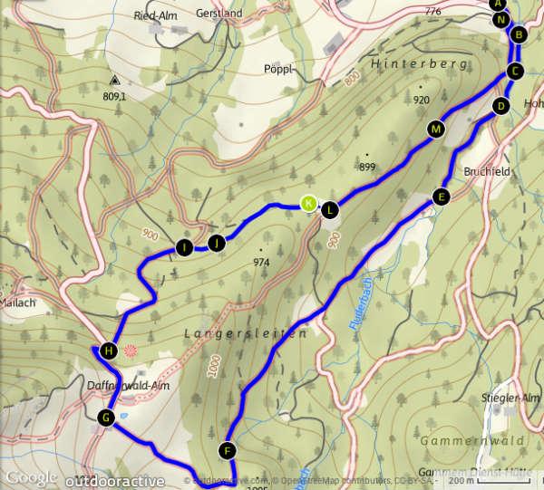 Daffnerwald_Tourverlauf