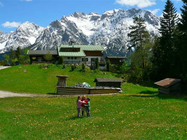 Mit Kindern auf den Kranzberg wandern