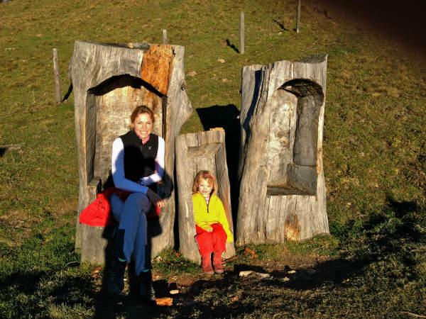 Wandern mit Kind zur Wildbichlalm