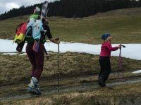 Hike & Ski am Markbachjoch: ein Mutter-Tochter-Abenteuer