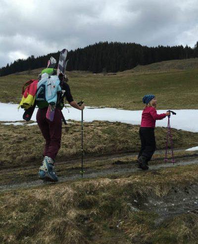 Wandern und Skifahren mit Kind in der Wildschönau