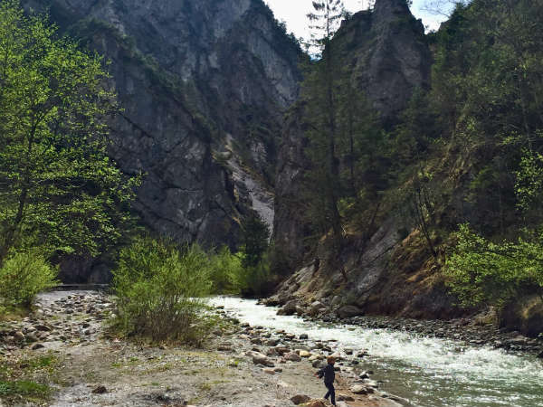 Wandern mit Kind_Kundler_Klamm