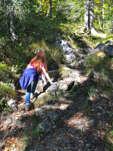 Hochalm Wandern mit Kind