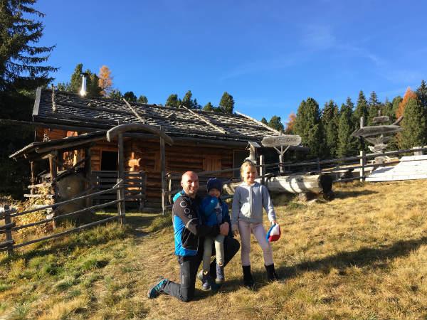 Bauernhofurlaub mit Kindern in Lüsen