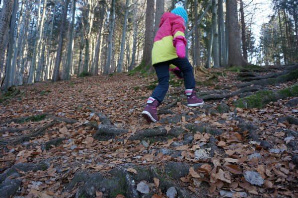 Riederstein wandern mit Kind