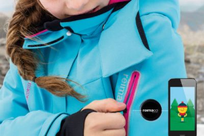 Für den Sensor für ReimaGo gibt's extra Taschen in der Kleidung