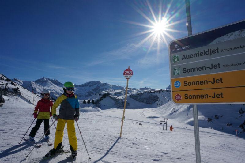 Skiurlaub mit Kindern in Lech