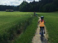 Für kleine Trail-Fans: Bikespaß mit Kind bei Bad Tölz