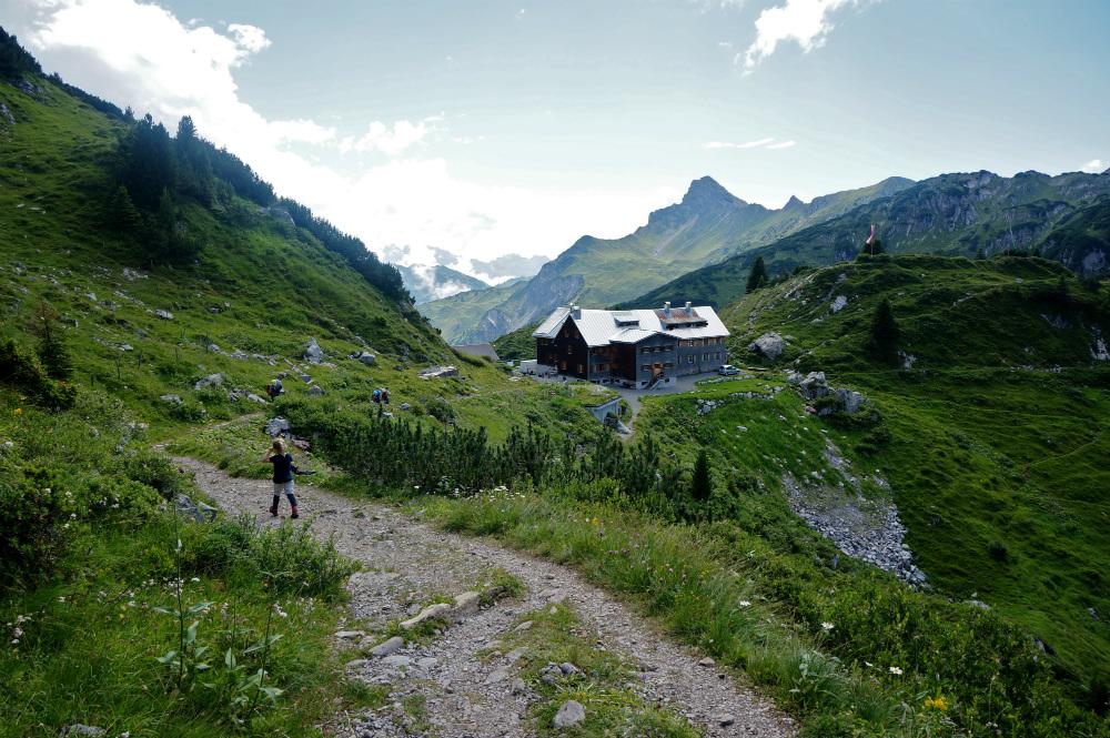 Mit Kindern auf Hütten: Die Freiburger Hütte im Lechquellengebirge