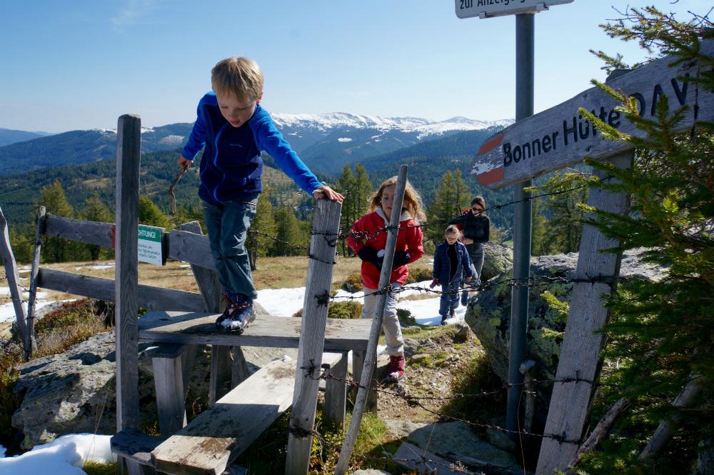 Wandern mit Kindern in den Nockbergen