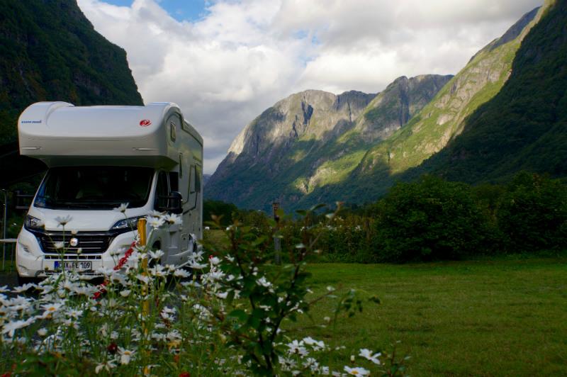 Norwegen, das Land der Wohnmobile