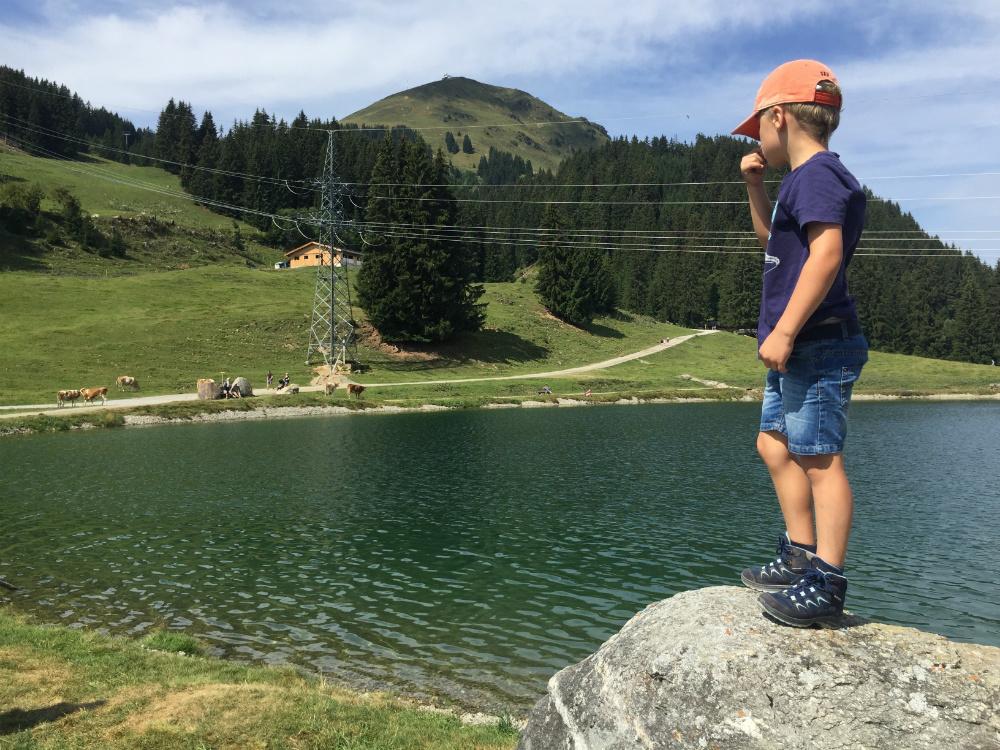 Wandern mit Kindern am Filzalmsee