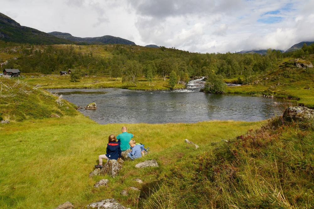 Norwegen Wandern mit Kind auf dem Fossestien