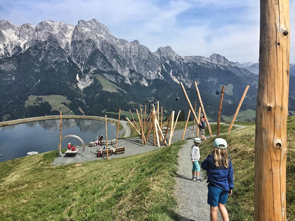 Wandern mit Kindern in Leogang