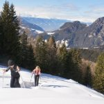Schneeschuhwandern mit Kindern Rosengarten